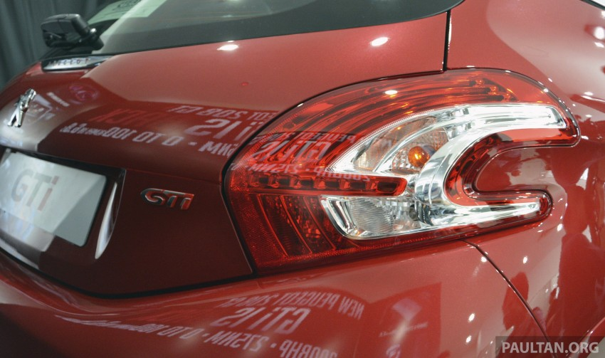 Peugeot 208 GTi launched in Malaysia – RM139,888 Image #203857