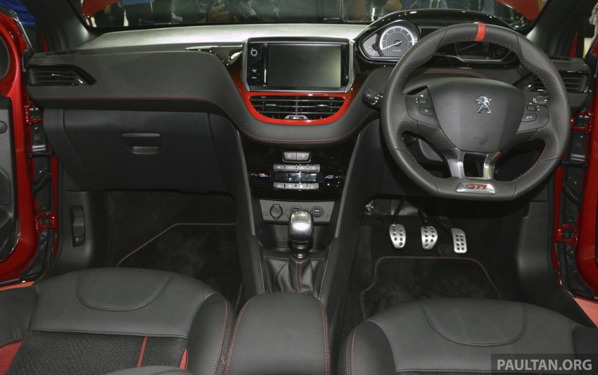 Peugeot 208 GTi launched in Malaysia – RM139,888 Image #203860