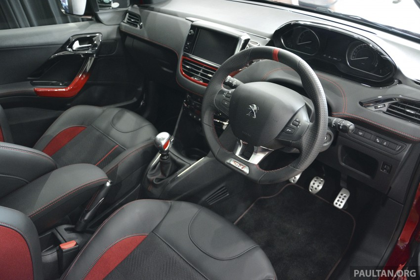 Peugeot 208 GTi launched in Malaysia – RM139,888 Image #203875