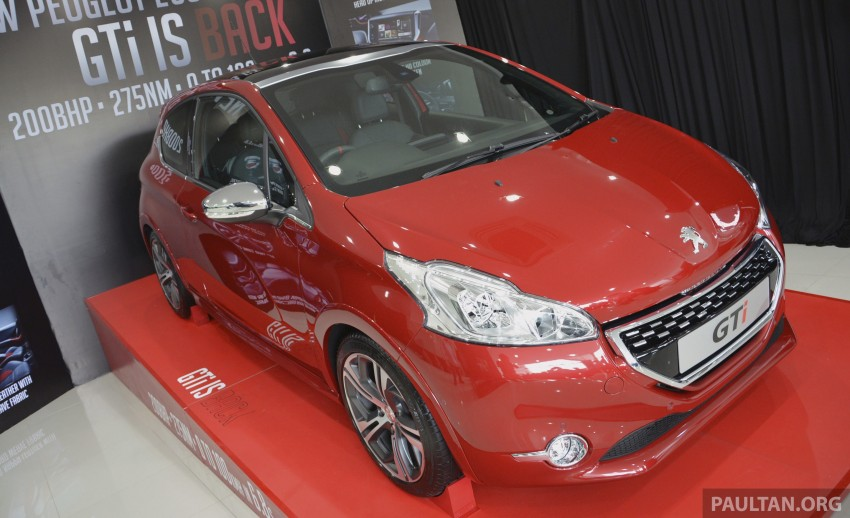 Peugeot 208 GTi launched in Malaysia – RM139,888 Image #203880