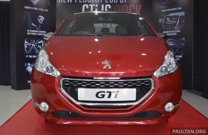 Peugeot 208 GTi launched in Malaysia – RM139,888 Image #203881