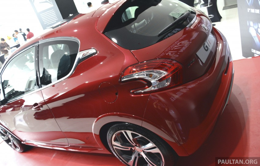 Peugeot 208 GTi launched in Malaysia – RM139,888 Image #203883