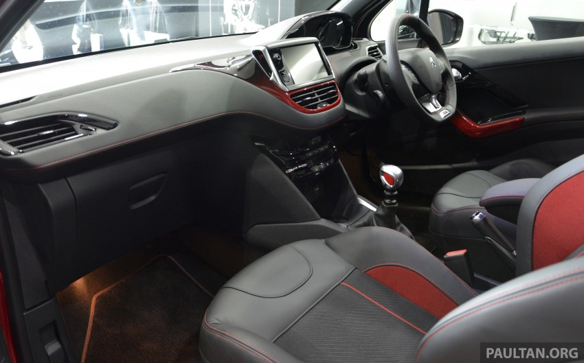 Peugeot 208 GTi launched in Malaysia – RM139,888 Image #203885