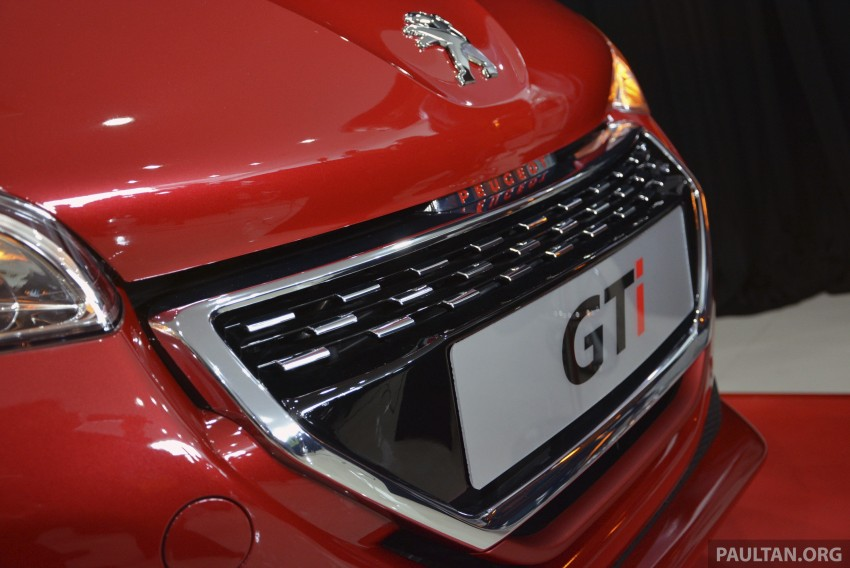 Peugeot 208 GTi launched in Malaysia – RM139,888 Image #203842