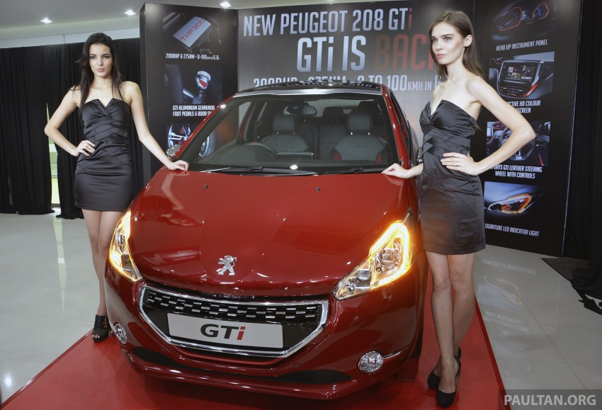 Peugeot 208 GTi launched in Malaysia – RM139,888 Image #203843