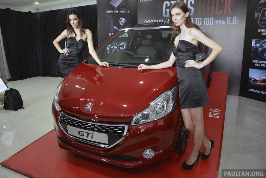 Peugeot 208 GTi launched in Malaysia – RM139,888 Image #203844
