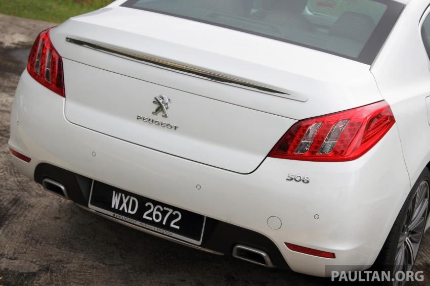 Euro D-segment comparo: Peugeot 508 GT HDi vs Ford Mondeo Ecoboost, diesel vs petrol Image #204165