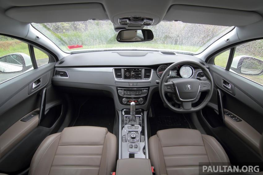 Euro D-segment comparo: Peugeot 508 GT HDi vs Ford Mondeo Ecoboost, diesel vs petrol Image #204213