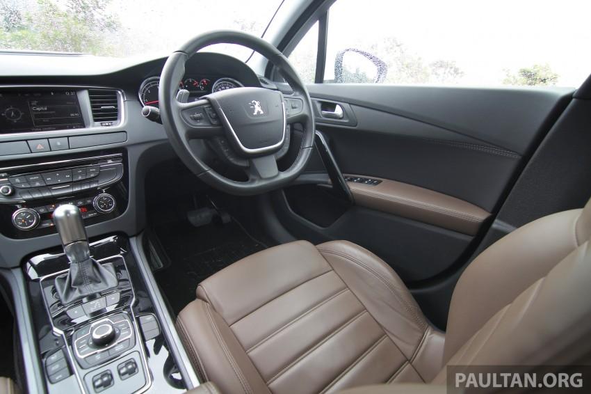 Euro D-segment comparo: Peugeot 508 GT HDi vs Ford Mondeo Ecoboost, diesel vs petrol Image #204215