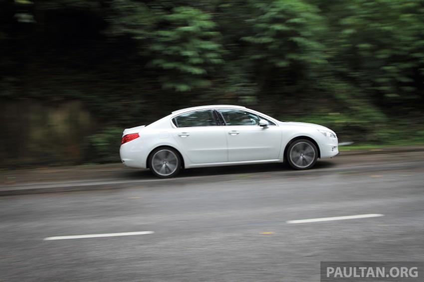 Euro D-segment comparo: Peugeot 508 GT HDi vs Ford Mondeo Ecoboost, diesel vs petrol Image #204237