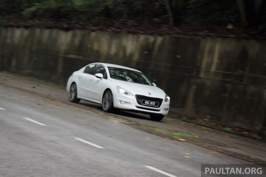 Euro D-segment comparo: Peugeot 508 GT HDi vs Ford Mondeo Ecoboost, diesel vs petrol Image #204239