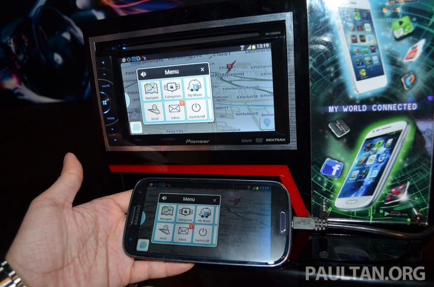 Pioneer 2014 ICE range launched – boasts various smartphone connectivity options for iOS, Android Image #203740