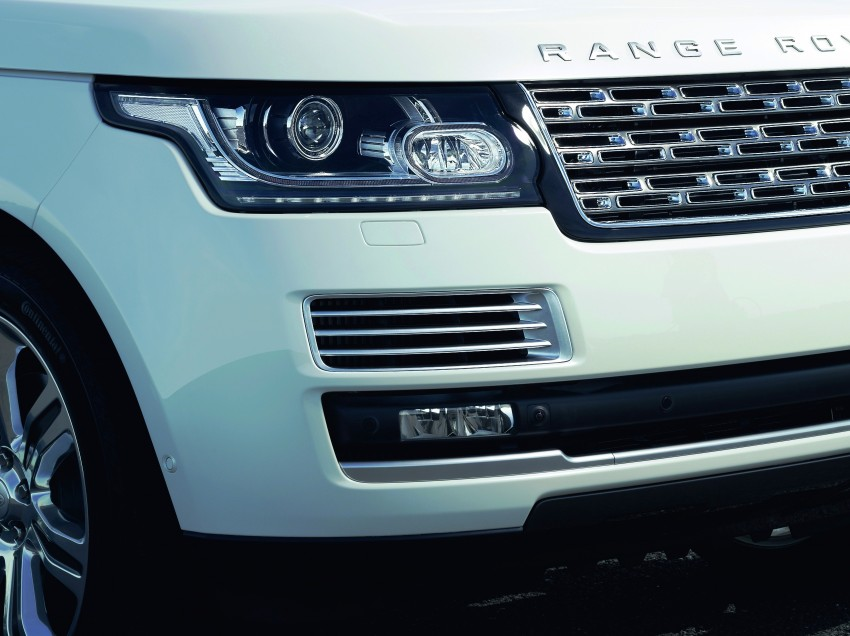 Range Rover long wheelbase and new top-of-the-range Autobiography Black trim revealed Image #206754