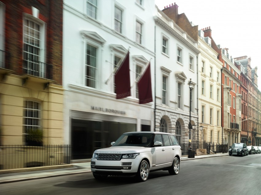 Range Rover long wheelbase and new top-of-the-range Autobiography Black trim revealed Image #206759
