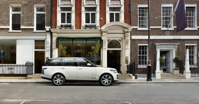 Range Rover long wheelbase and new top-of-the-range Autobiography Black trim revealed Image #206760
