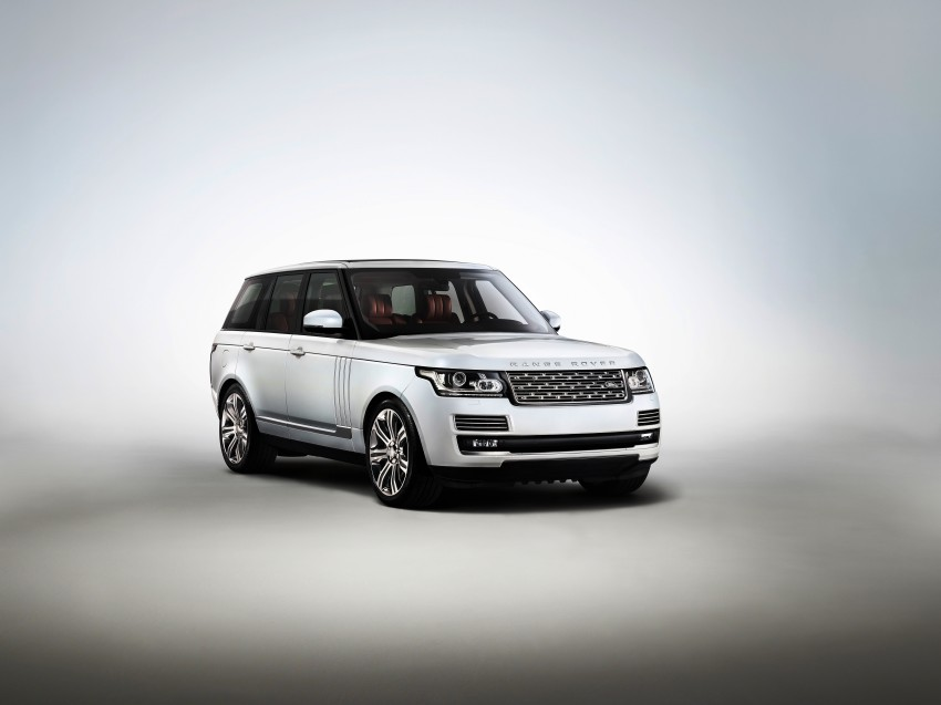 Range Rover long wheelbase and new top-of-the-range Autobiography Black trim revealed Image #206762