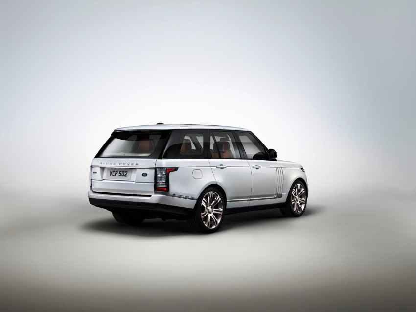 Range Rover long wheelbase and new top-of-the-range Autobiography Black trim revealed Image #206763