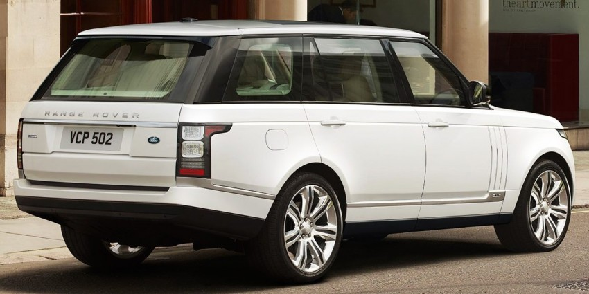 Range Rover long wheelbase and new top-of-the-range Autobiography Black trim revealed Image #206765