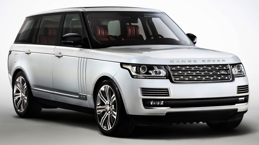 Range Rover long wheelbase and new top-of-the-range Autobiography Black trim revealed Image #206767