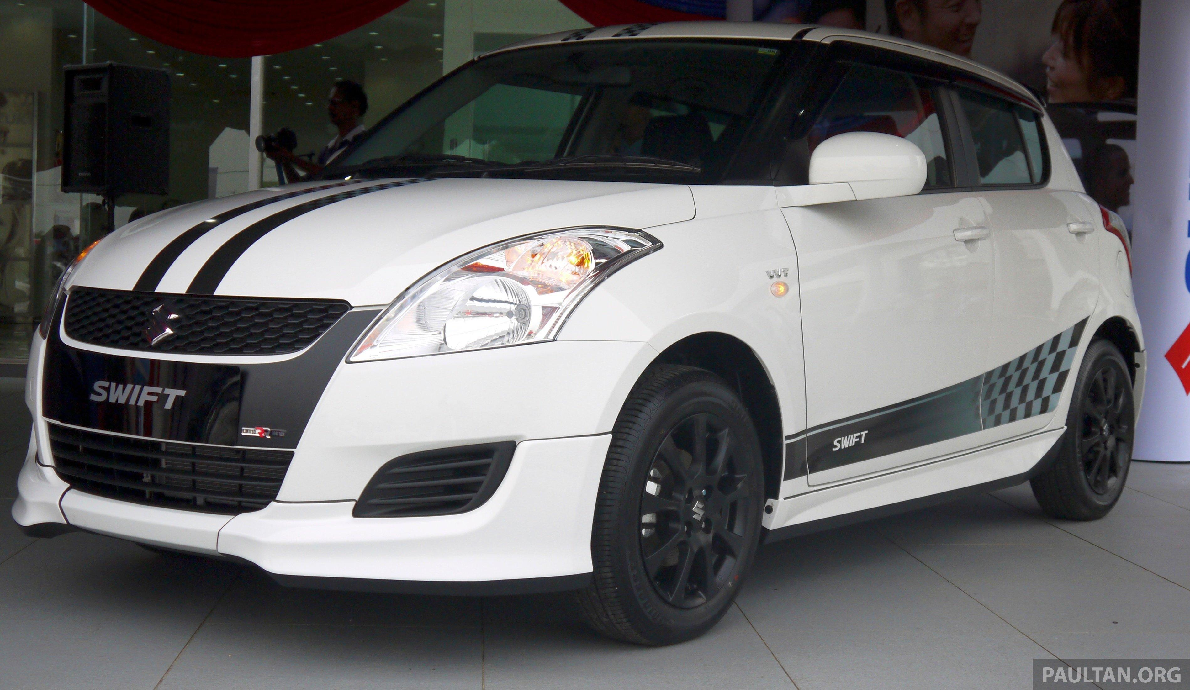 Black Suzuki Swift