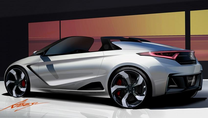 Honda S660 Concept mini roadster to debut in Tokyo Image #205955