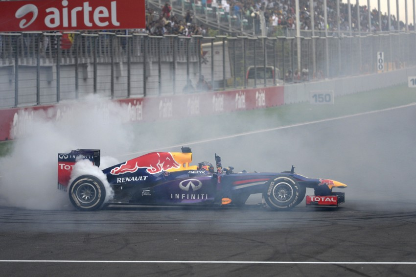 Vettel and Red Bull crowned F1 champions yet again Image #207059