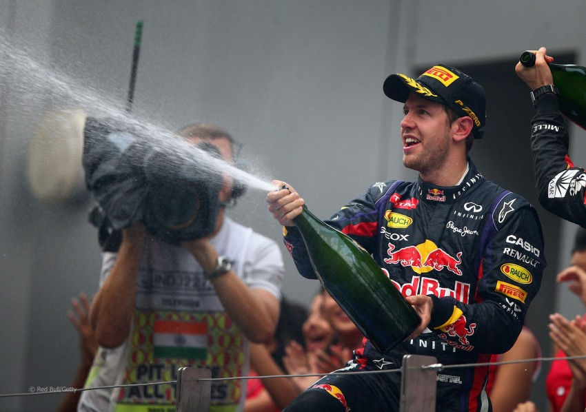 Vettel and Red Bull crowned F1 champions yet again Image #207062