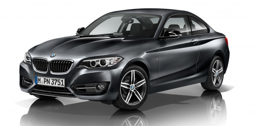 New BMW 2 Series Coupe and M235i unveiled in full Image #206477