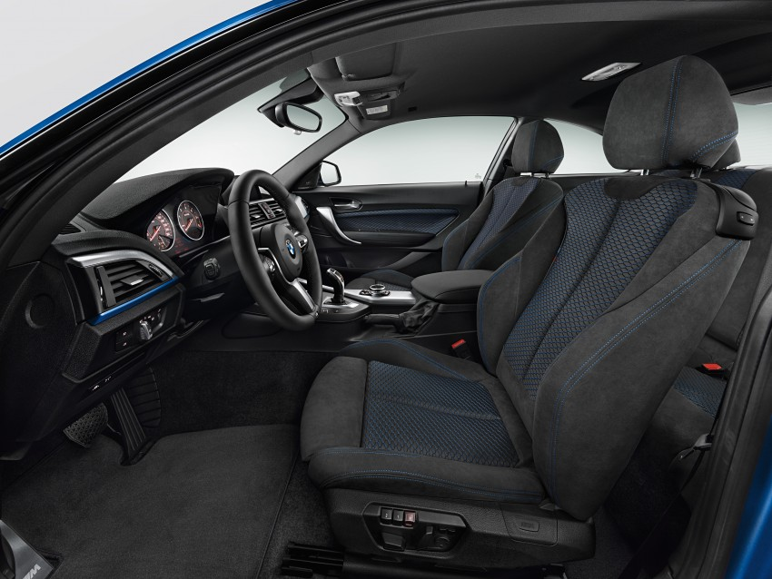 New BMW 2 Series Coupe and M235i unveiled in full Image #206484