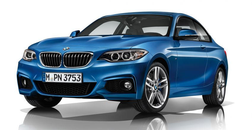 New BMW 2 Series Coupe and M235i unveiled in full Image #206475