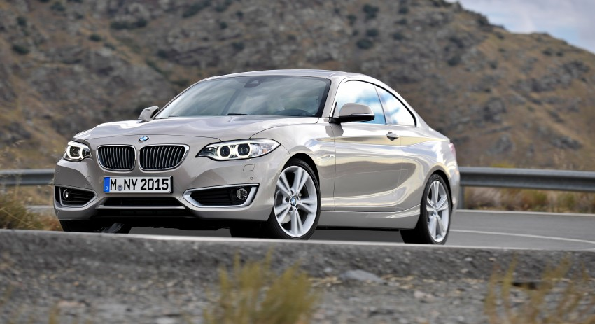 New BMW 2 Series Coupe and M235i unveiled in full Image #206481