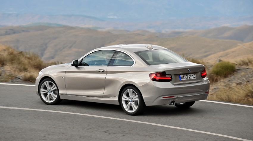 New BMW 2 Series Coupe and M235i unveiled in full Image #206480