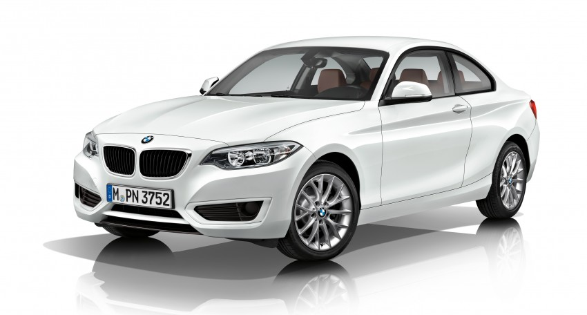 New BMW 2 Series Coupe and M235i unveiled in full Image #206479