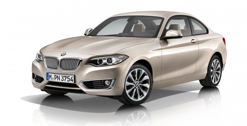 New BMW 2 Series Coupe and M235i unveiled in full Image #206478
