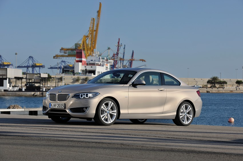 New BMW 2 Series Coupe and M235i unveiled in full Image #206488