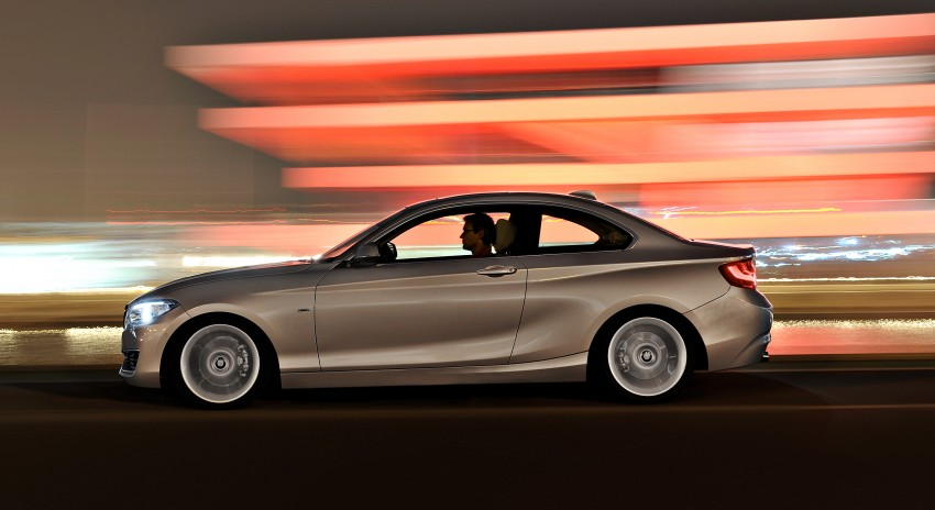 New BMW 2 Series Coupe and M235i unveiled in full Image #206482