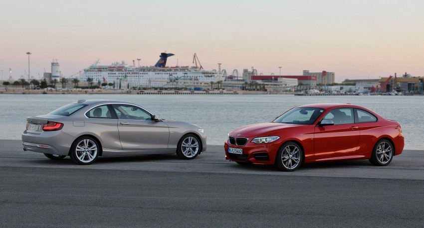 New BMW 2 Series Coupe and M235i unveiled in full Image #206483