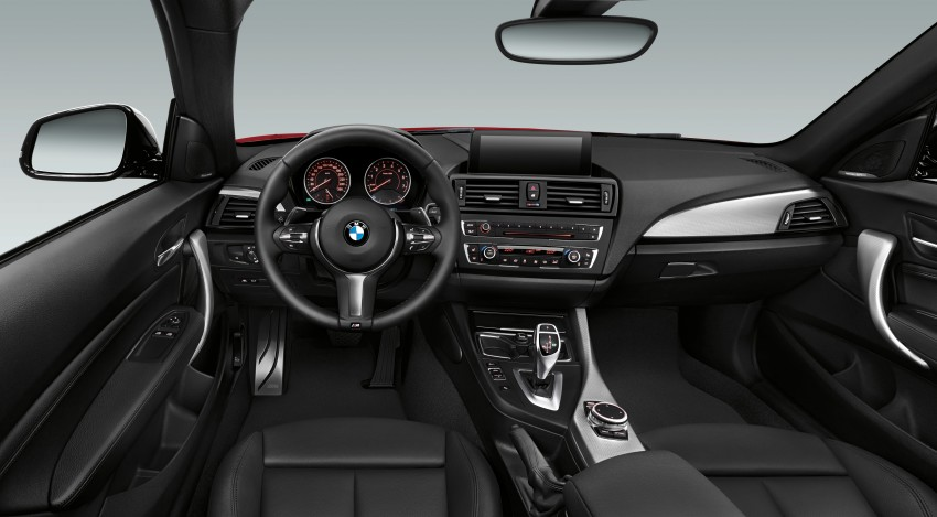 New BMW 2 Series Coupe and M235i unveiled in full Image #206500