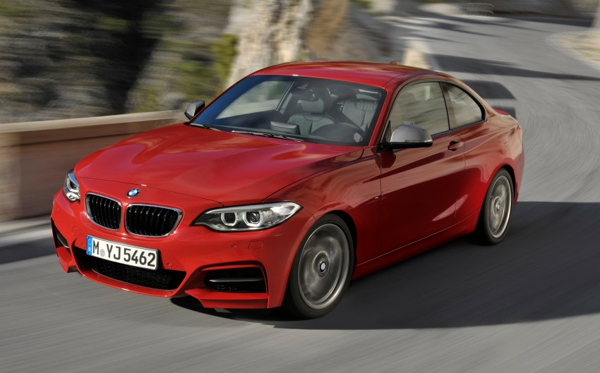 New BMW 2 Series Coupe and M235i unveiled in full Image #206453