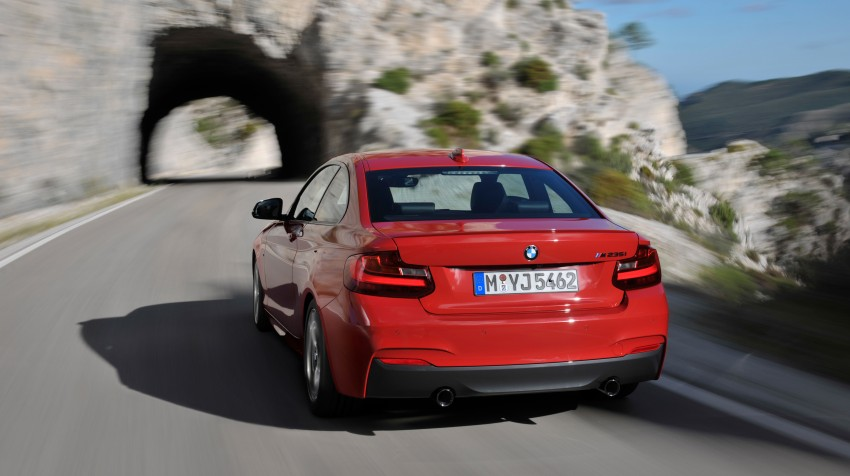 New BMW 2 Series Coupe and M235i unveiled in full Image #206455