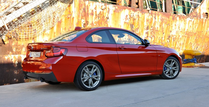New BMW 2 Series Coupe and M235i unveiled in full Image #206460
