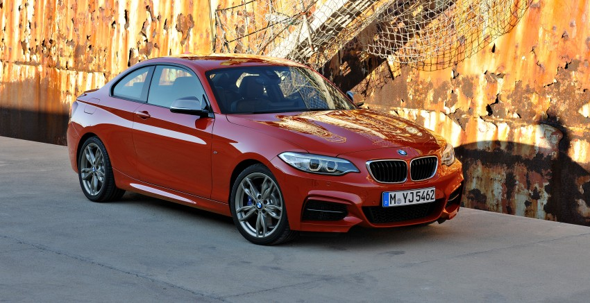 New BMW 2 Series Coupe and M235i unveiled in full Image #206461