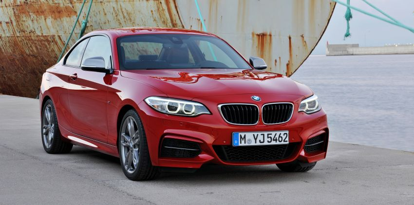 New BMW 2 Series Coupe and M235i unveiled in full Image #206463