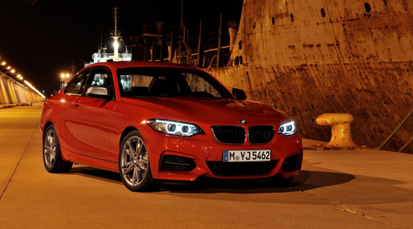 New BMW 2 Series Coupe and M235i unveiled in full Image #206464