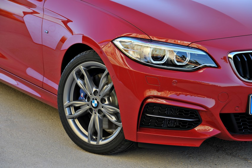New BMW 2 Series Coupe and M235i unveiled in full Image #206465