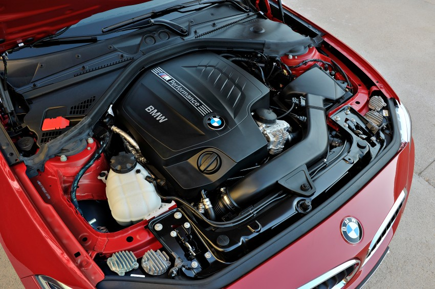 New BMW 2 Series Coupe and M235i unveiled in full Image #206466