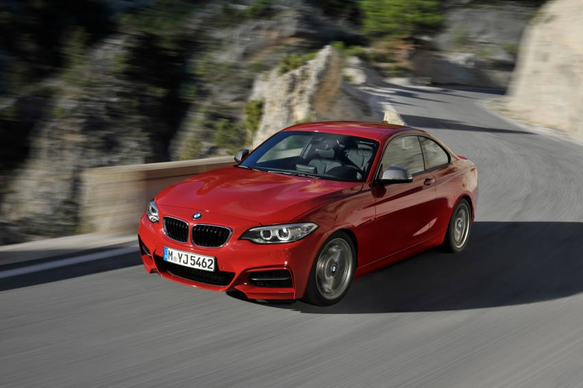 New BMW 2 Series Coupe and M235i unveiled in full Image #206467