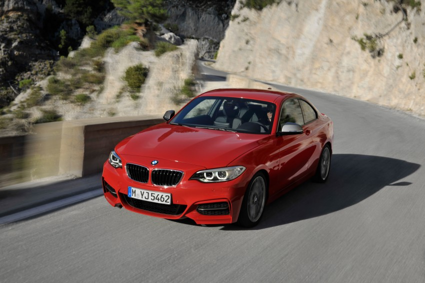 New BMW 2 Series Coupe and M235i unveiled in full Image #206468