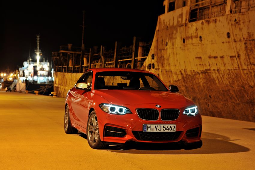 New BMW 2 Series Coupe and M235i unveiled in full Image #206470