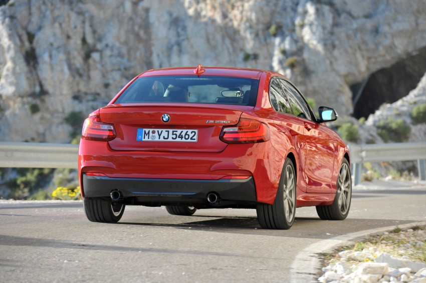 New BMW 2 Series Coupe and M235i unveiled in full Image #206471